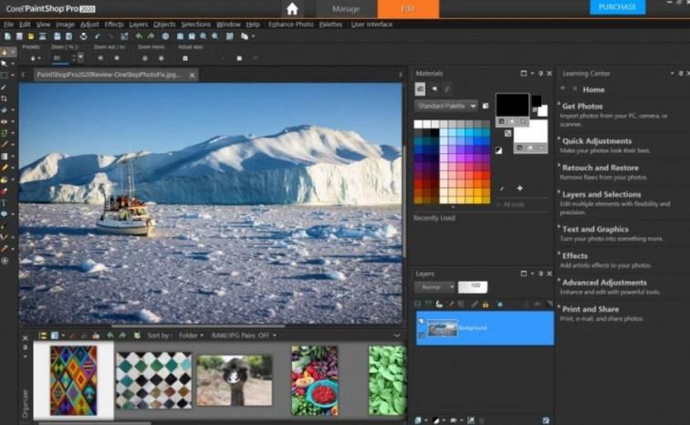 Aplikasi Edit Foto Corel PaintShop Pro