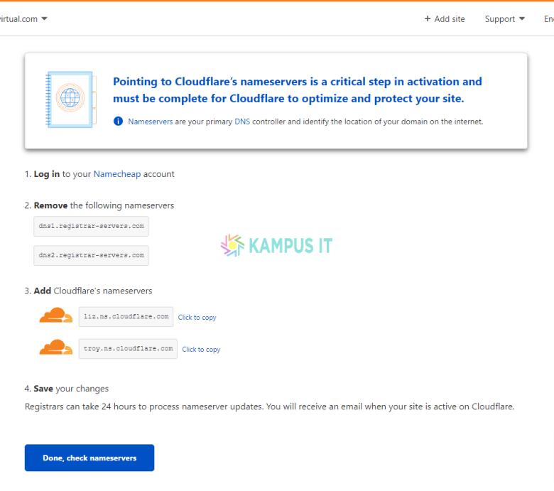 Cara Setting Cloudflare Di Wordpress Dan Pasang Ssl Gratis
