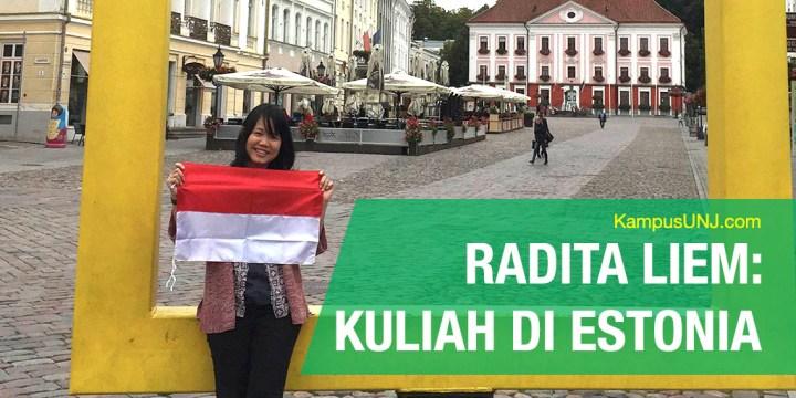 Kuliah di Universitas Tartu: Kisah Radita Liem Mendapatkan Beasiswa