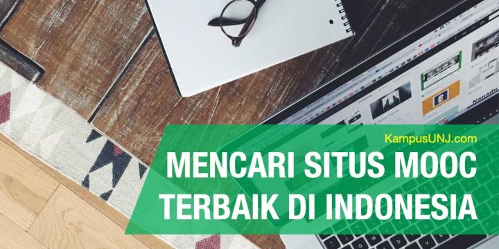 Inikah Situs Kuliah Online (MOOC) Terbaik Indonesia?