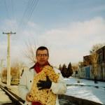 Kamran Ashtary, 2003, in Arak with fresh baked bread