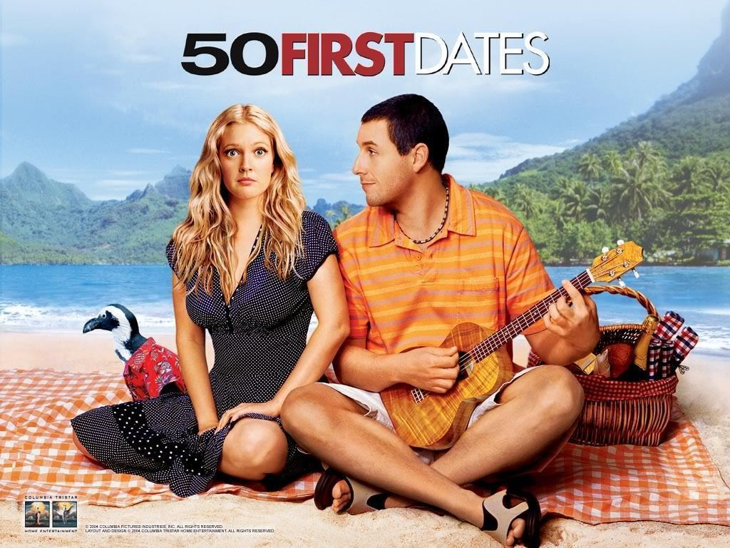 Cinematic Strumming: 50 First Dates