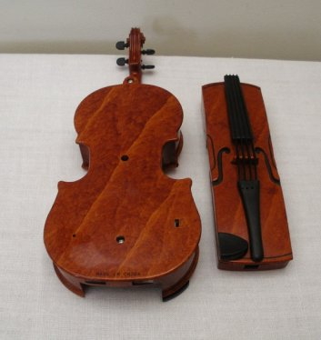 A phone that looks like a violin?