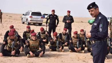 Photo of الافواج القتالية لشرطة كربلاء تواصل تدريبها وفق مناهج وزارة الداخلية