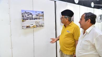 "Photo of تجمع""فنانوالعراق"" يفتتح معرض صور لــدمـار مدينة الموصل"