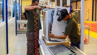 Photo of بالصور /تعرف على  مصنع (نسيم الوارث) لصناعة مكيفات الهواء وخطوط إنتاجه.
