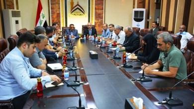 Photo of مدير مكتب انتخابات كربلاء يجتمع بمسؤولي اعلام دوائرها