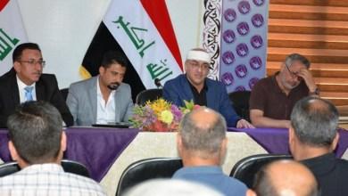 Photo of مكتب كربلاء الانتخابي يعقد اجتماعا مع مدراء مراكز التسجبل