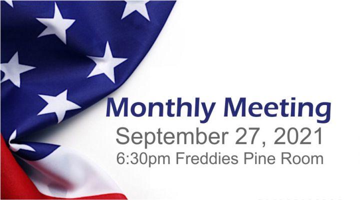 September 27 2021 Meeting Notice