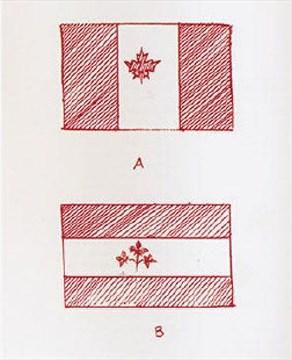 john_matheson_canada_maple_leaf_flag_memo_1964