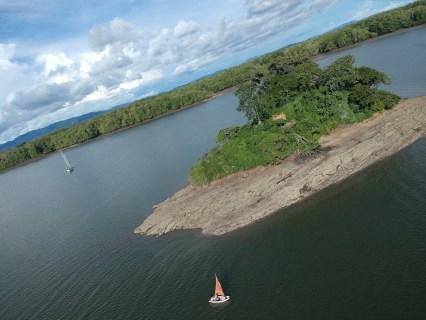 Petit tour de l'île Marcel à la prame