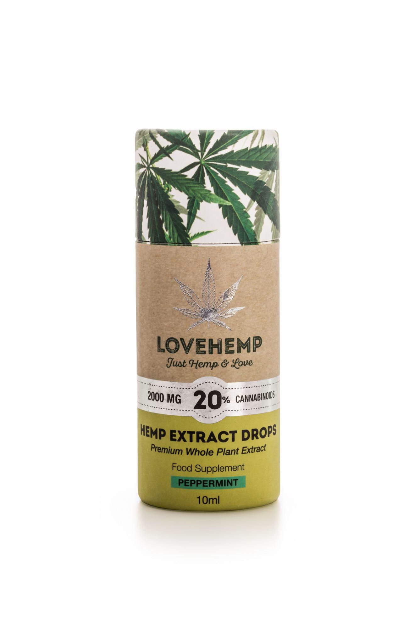 20% peppermint CBD oil