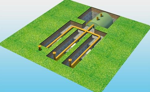 Система утилизации очищенных сточных вод