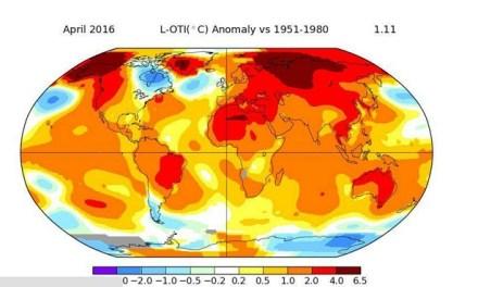 НАСА: Загрижувачки податоци за мерењето на глобалната температура
