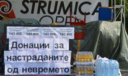 Голема хуманост и огромна донација од струмичани за поплавените во Скопје и Тетово
