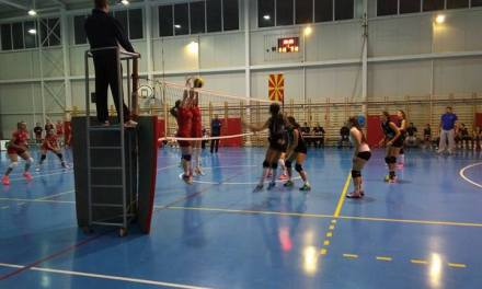 Фото – Празник на одбојката во Струмица – Македонија Макс го доби првото дерби со Наковски Волеј