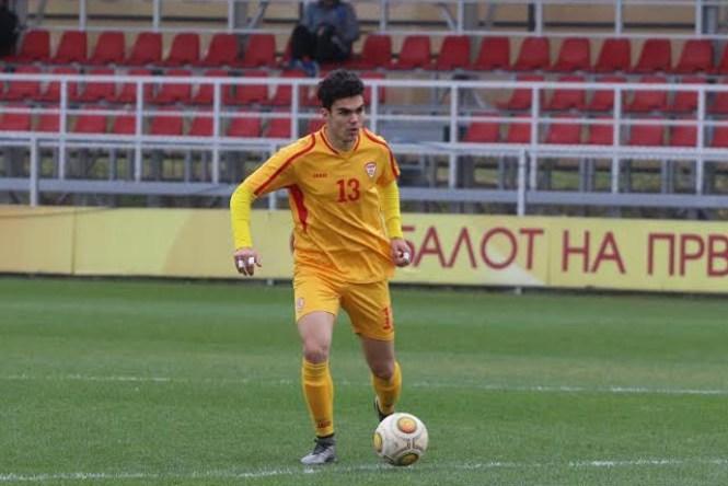 Ване Тасевски од Сасуоло дебитираше за македонската фудбалска репрезентација