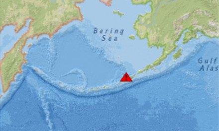 Земјотрес со јачина од 6,8 степени според Рихтер на Алеутски острови
