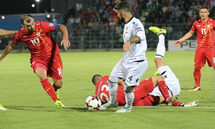 Македонија беше подобра, но ремизираше со Албанците на стадионот Младост во Струмица