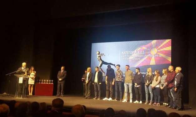 Фото – Училишниот спортски тим на ,,Никола Карев'' од Струмица најуспешен меѓу средните училишта – одлучи Агенцијата за млади и спорт