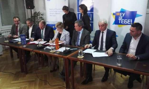 Струмица и Валандово меѓу шесте општини кои добиваат грант од 400 илјади долари