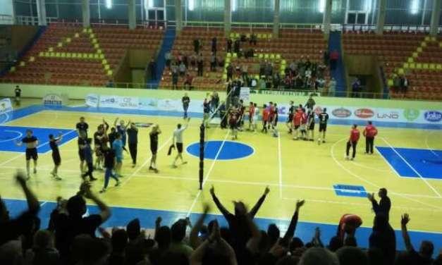 Џио Струмица се пласираше во финалето од одбојкарскиот шампионат, снимка Џио-Вардар утревечер на ВИС