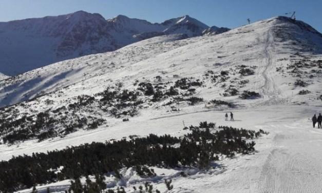 Јулски снег во Бугарија