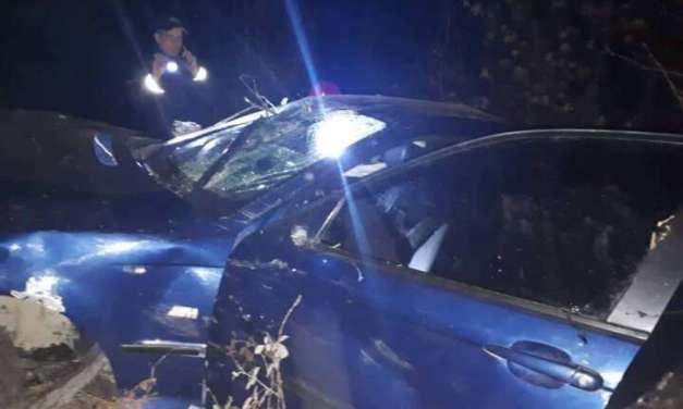Едно лице загина а три се повредени во синоќешната сообраќајка кај Габровските водопади