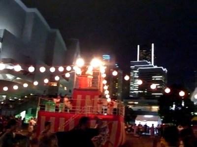 みなとみらい盆踊り2010