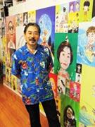 「ぴあ」表紙を36年間描き続けた、横須賀育ちのイラストレーター・及川正通さん(横須賀経済新聞 ホームページより)