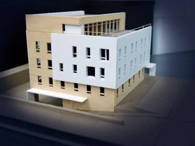 Wood model 3d study