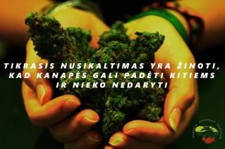 Gamta - tai ne nusikaltimas! Mes - ne nusikaltėliai!