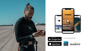 KANARA Sport Water Sports App Tutorial Sync and Track