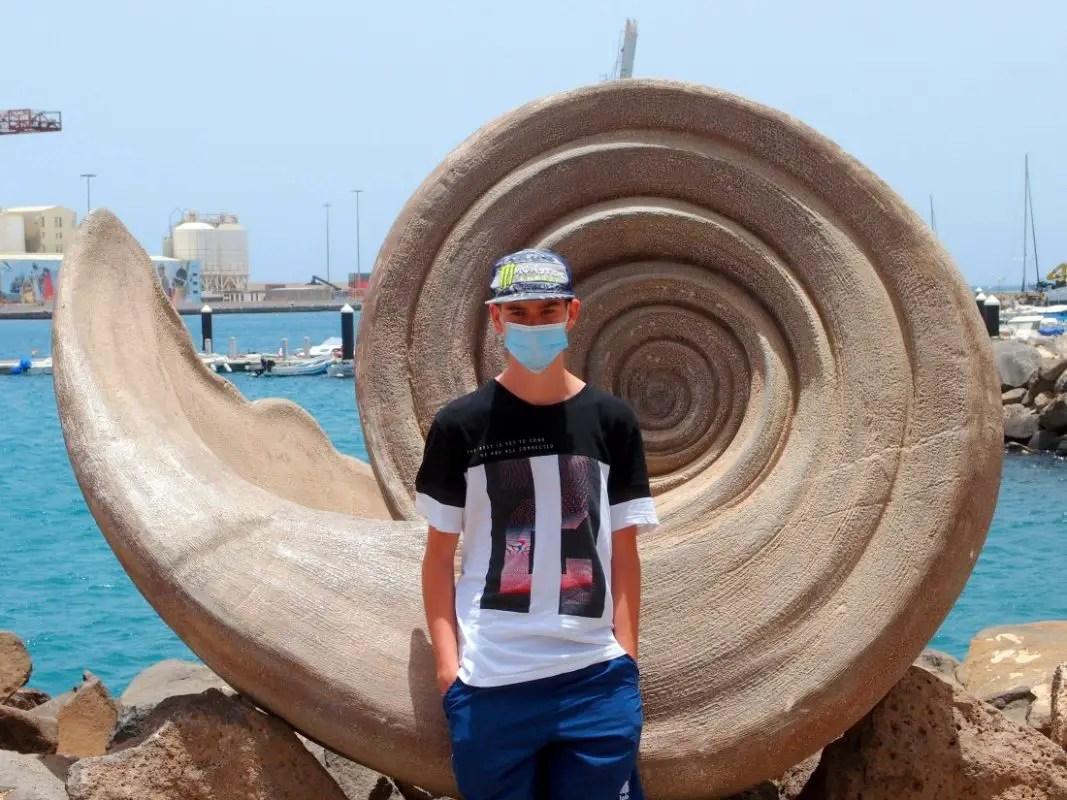 Hafen Fuerteventura - Muschelkunst