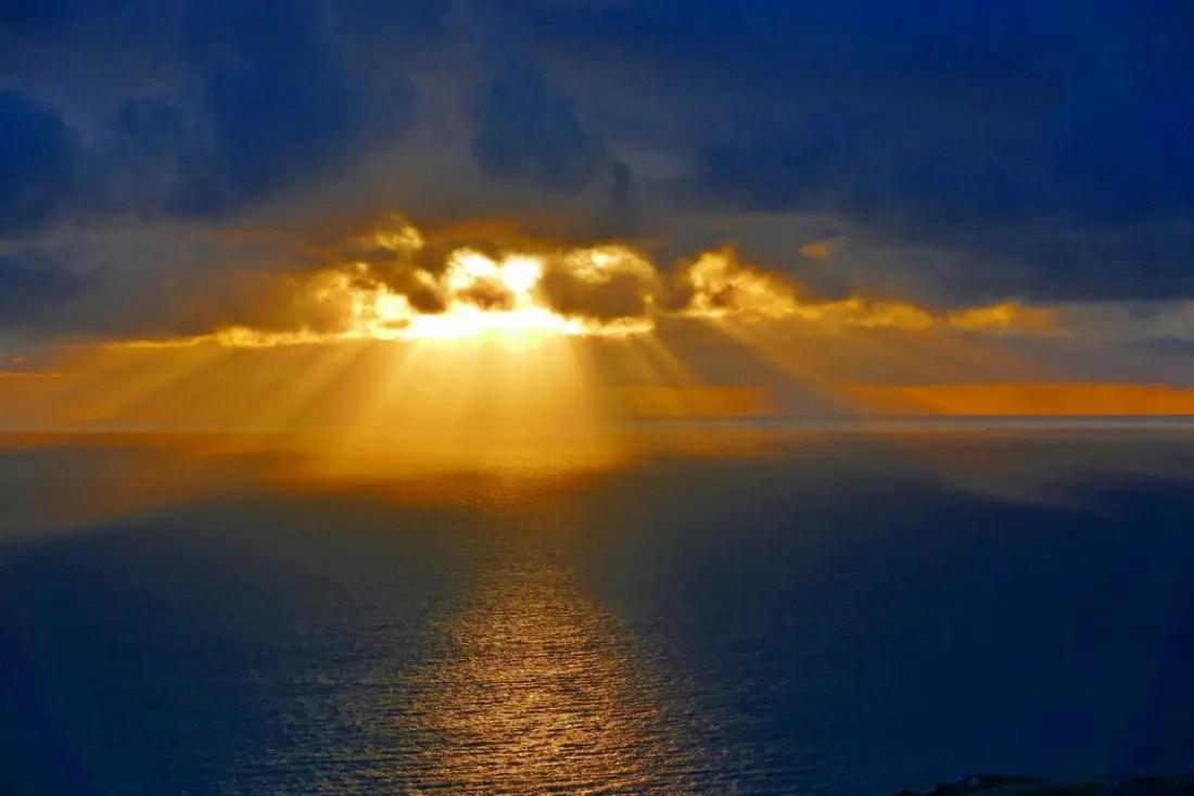 Sonnenaufgang über La Palma