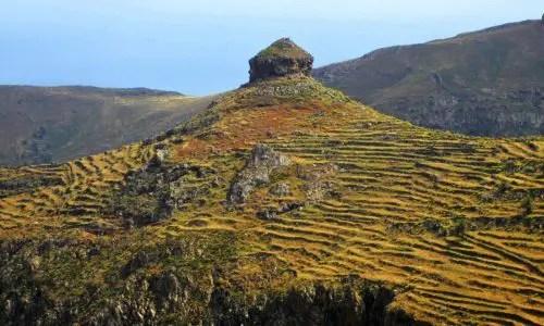 Vulkanschlot auf La Gomera