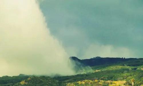 Besonderes Wolkenphänomen