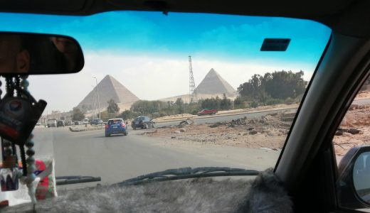 エジプトでタクシー(ウーバー)に乗った時のエピソード5