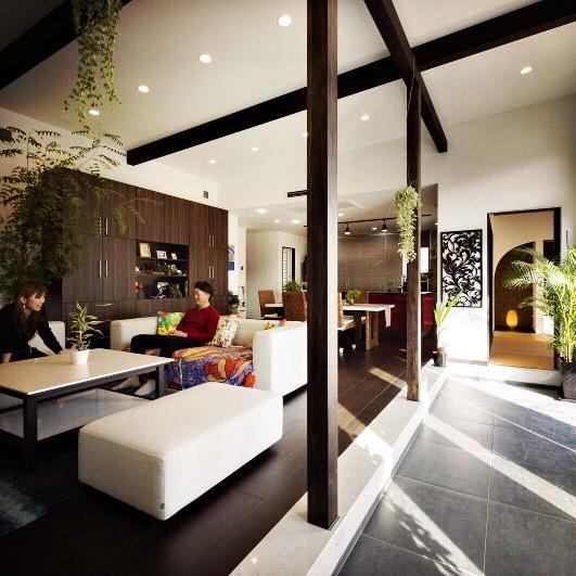 住宅 アジアリゾート