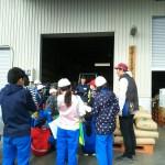 米づくり見学 飯山小学校