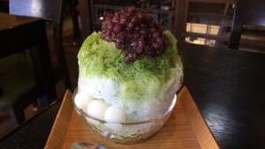 夏はやっぱりかき氷~♪風情ある東山で抹茶蜜かき氷〜♪  @茶房 素心