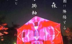 デジタル掛け軸 が今年も赤レンガを包む ! 光の曼荼羅 で究極の癒しを♡