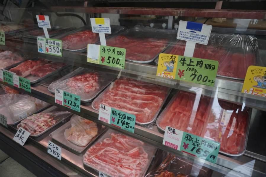 今時珍しい昔ながらのお肉屋さん『 細川精肉店 』を菊川で見つけた !!