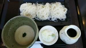 田上にある「 蕎香 」で本格蕎麦を味わう