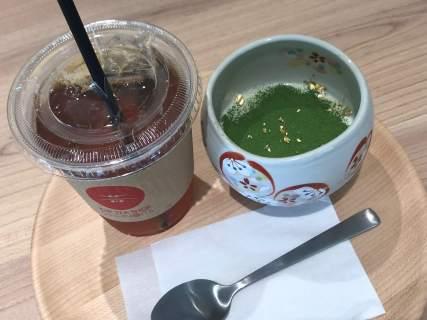 『 THE TEA SHOP CHANOMI( 茶のみ )』で上質で美味しいお茶とスイーツを楽しむ