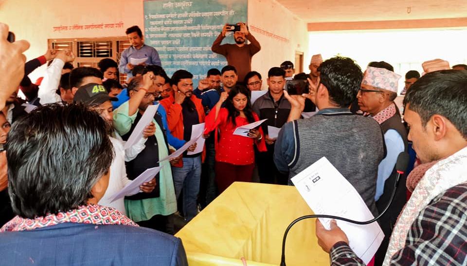 प्रेस संगठन बाँकेको सपथ ग्रहण तथा प्रशिक्षण कार्यक्रम सम्पन्न