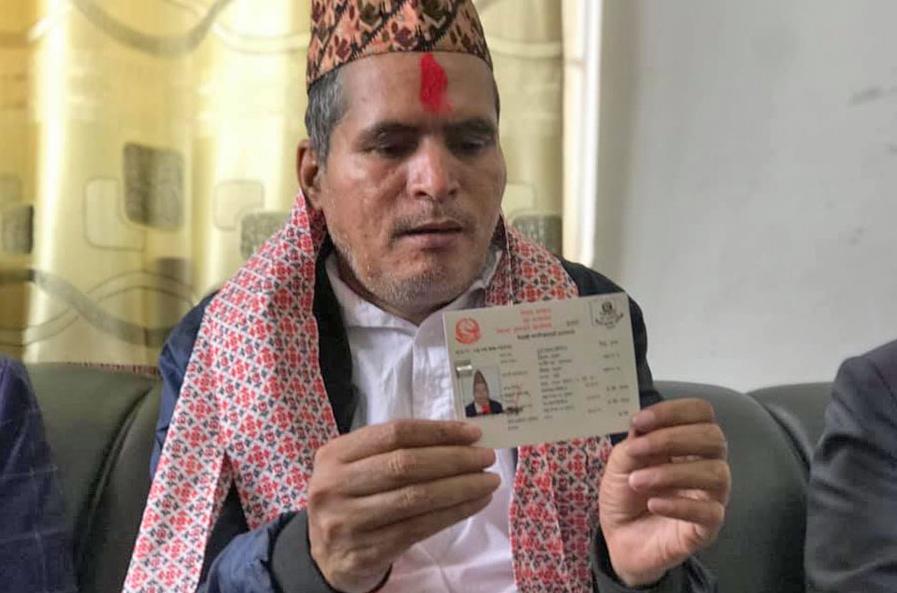 दुर्गाप्रसादले पाए नेपाली नागरिकता