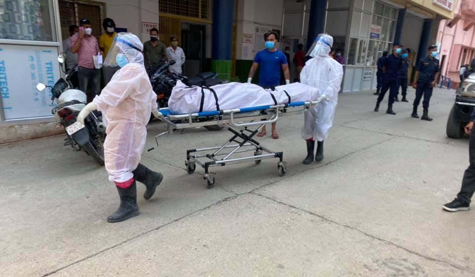 बाँकेमा मंगलबारसम्म ३५० संक्रमितको मृत्यु