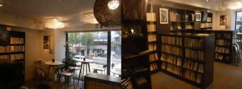 東京古書店2階「くつろぎの空間」アートスペースサワ