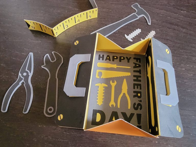 Read more about the article Father's Day Tool Box Card
